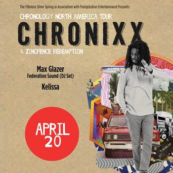 Chronixx flyer